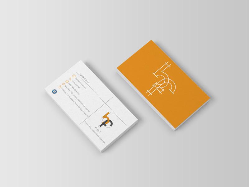 B&F businesscard, névjegykártya