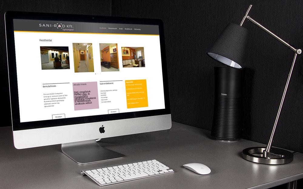 WP weboldal website